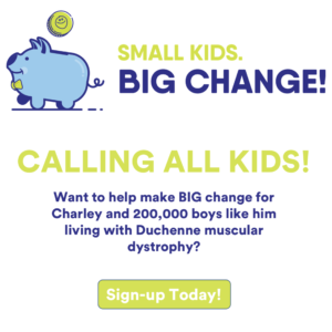 Sign up for Small Kids. BIG Change!